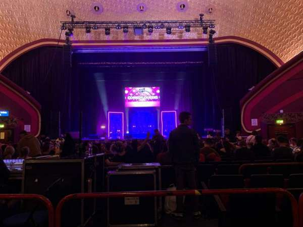 O2 Apollo Manchester, section: Stalls, row: Y, seat: 23