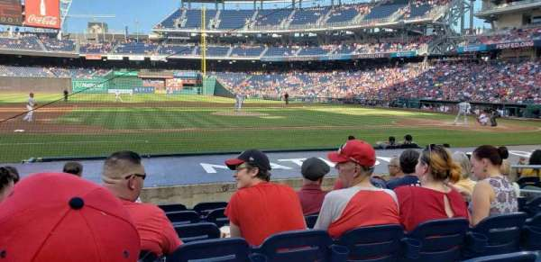 Nationals Park, section: 116, row: K, seat: 9