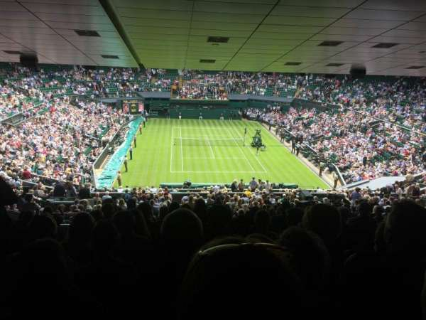 Wimbledon, Centre Court, section: 511, row: ZB, seat: 210