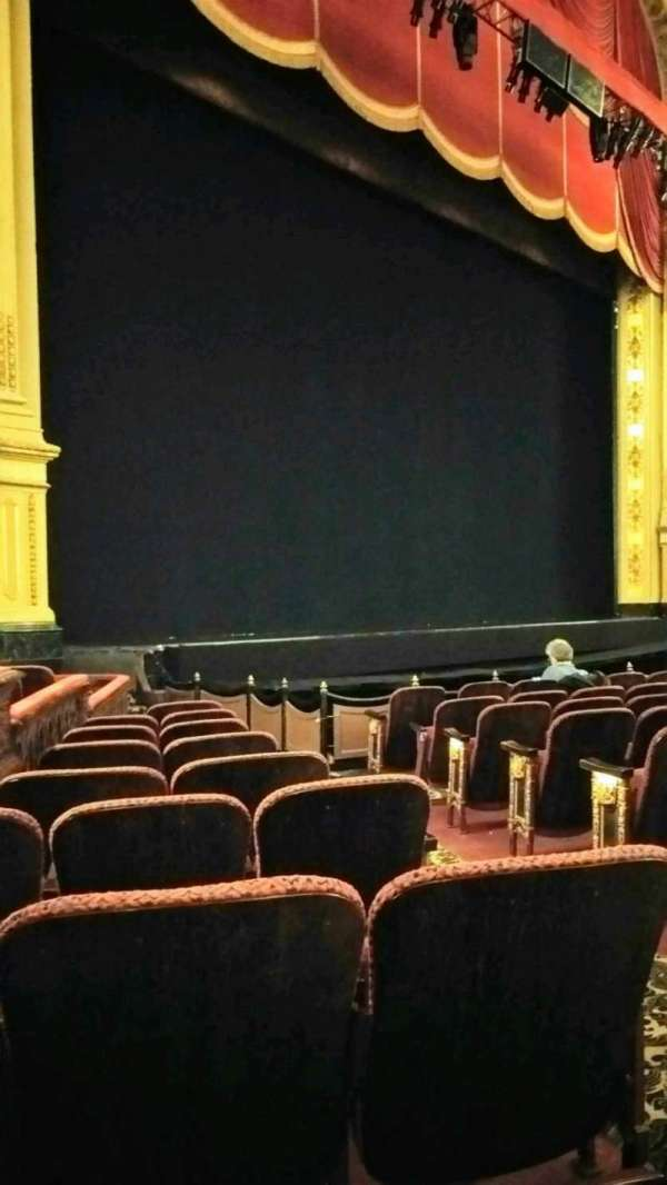 Boston Opera House, section: Orch Lft, row: I, seat: 35