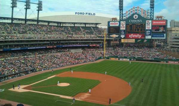 Comerica Park, section: 218, row: 8, seat: 11