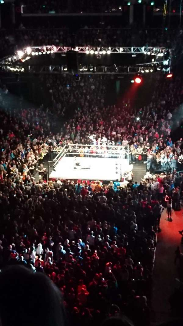 The SSE Hydro, section: 236, row: M, seat: 360