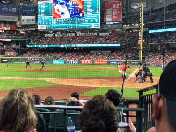 Minute Maid Park, section: 116, row: 7, seat: 13