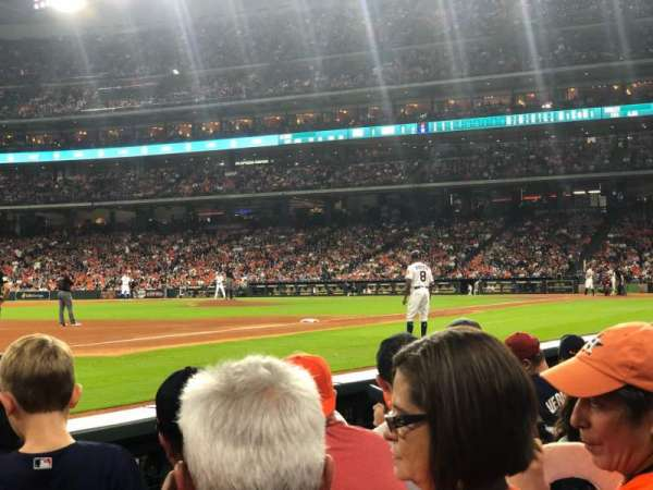 Minute Maid Park, section: 110, row: 4, seat: 9