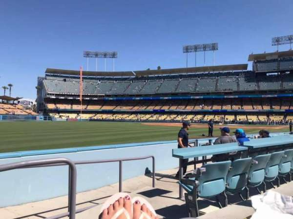 Dodger Stadium, section: 47FD, row: A, seat: 1