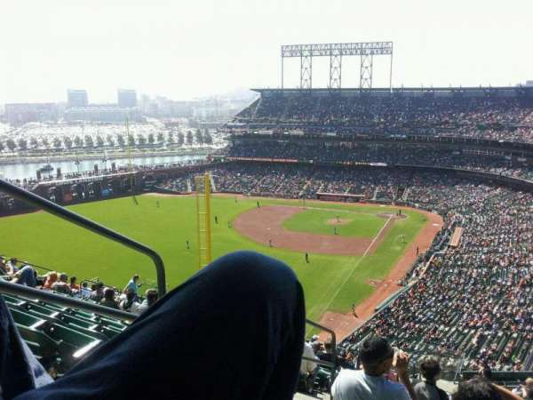 AT&T Park, section: 334, row: 11, seat: 19