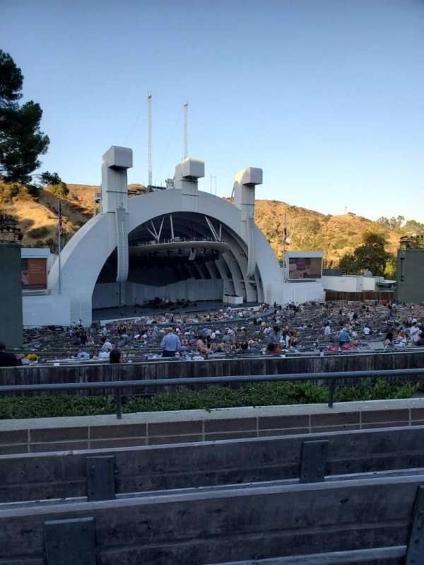 Hollywood Bowl , section: K2, row: 4, seat: 105
