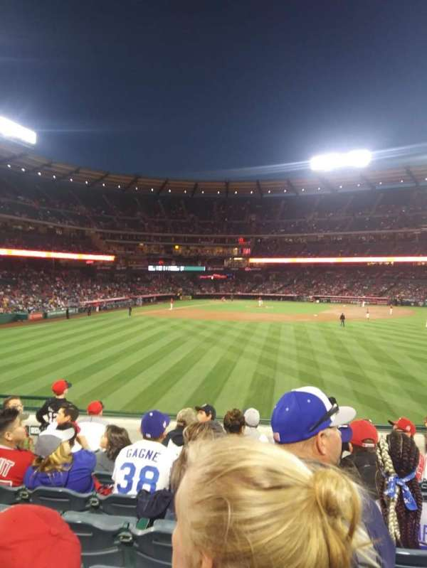 Angel Stadium, section: P238, row: H, seat: 5