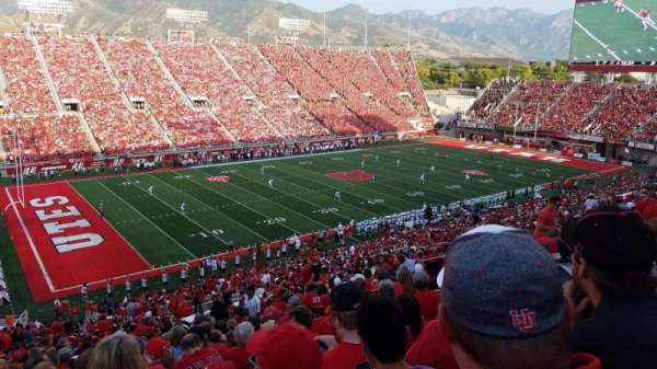 Rice-Eccles Stadium, section: W16, row: 49, seat: 20