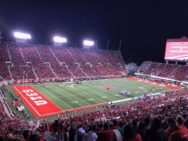 Rice-Eccles Stadium, section: W17, row: 55, seat: 1