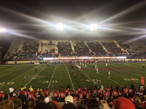 Huskie Stadium, section: PREM E, row: 10, seat: 11