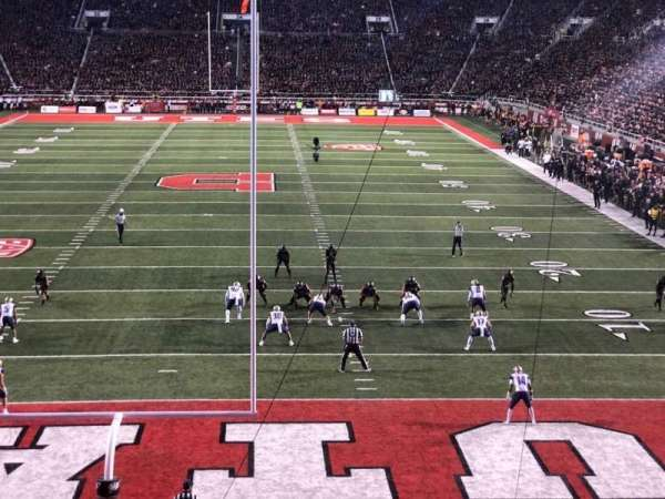 Rice-Eccles Stadium, section: S3, row: 15, seat: 5