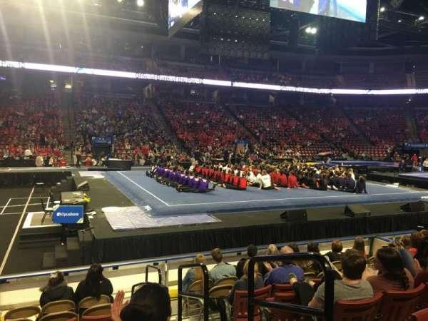 Maverik Center, section: 112, row: 8, seat: 2
