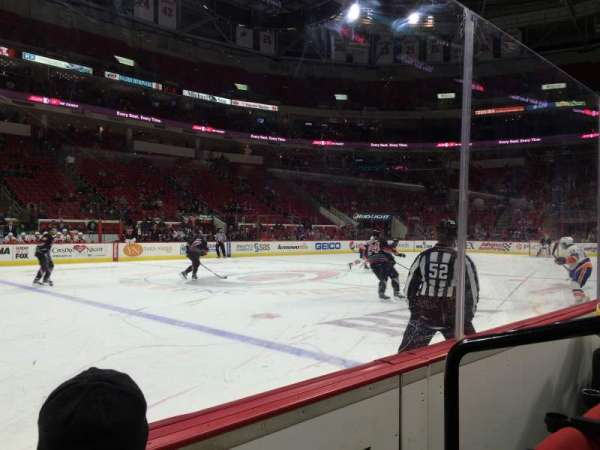 PNC Arena, section: 121, row: B, seat: 2