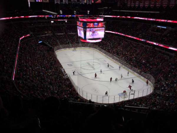 Capital One Arena, section: 406, row: K, seat: 17