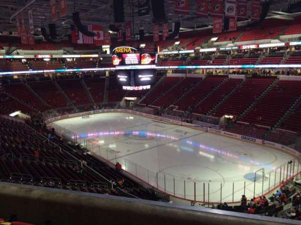 PNC Arena, section: 216, row: D, seat: 5