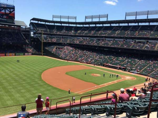 Globe Life Park in Arlington, section: 214, row: 10