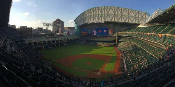 Minute Maid Park, section: 417, row: 5