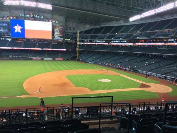Minute Maid Park, section: 211, row: 6
