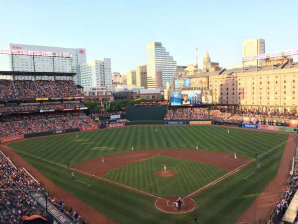 Oriole Park at Camden Yards, section: 338, row: 3