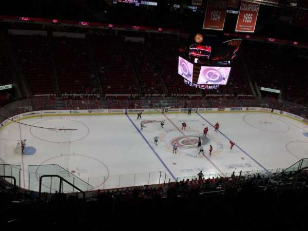 PNC Arena, section: 308, row: K, seat: 16