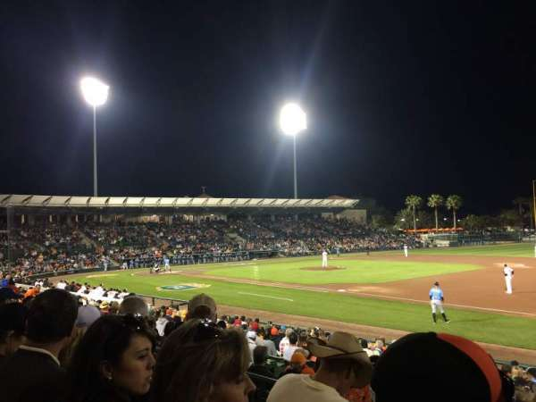 Ed Smith Stadium, section: 205, row: 3, seat: 3