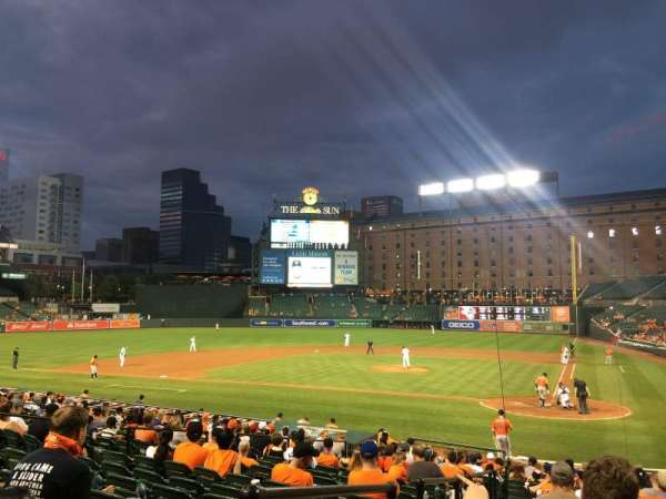 Oriole Park at Camden Yards, section: 42, row: 20