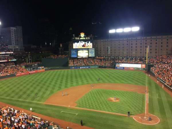 Oriole Park at Camden Yards, section: 348, row: 3