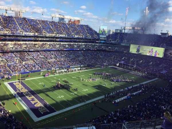 M&T Bank Stadium, section: 533, row: 10