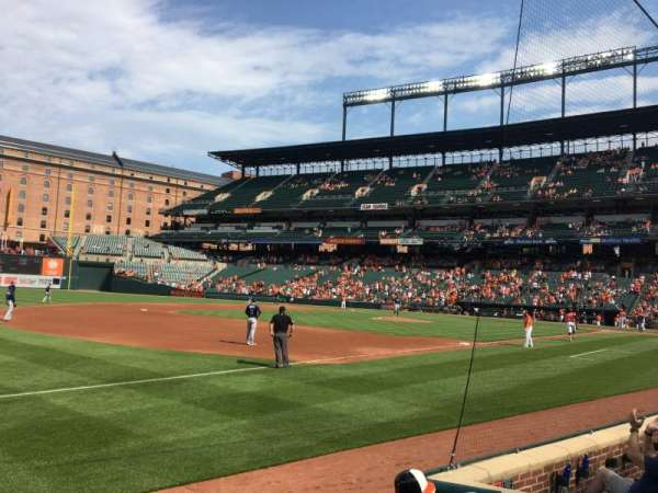 Oriole Park at Camden Yards, section: 60, row: 2
