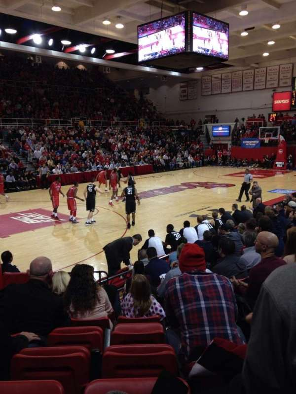 Carnesecca arena, section: 11, row: JJ, seat: 9