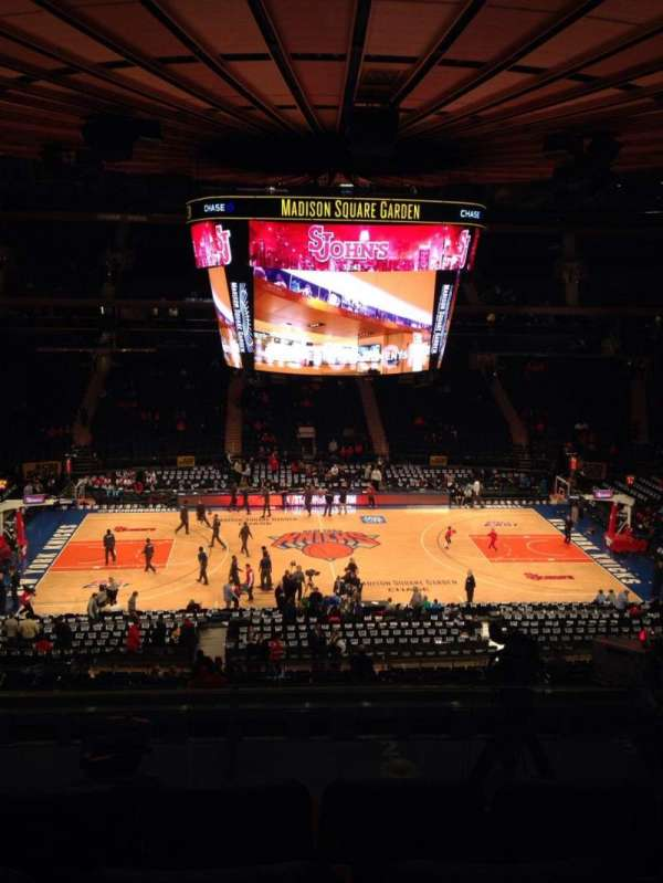 Madison Square Garden, section: 224, row: 6, seat: 3
