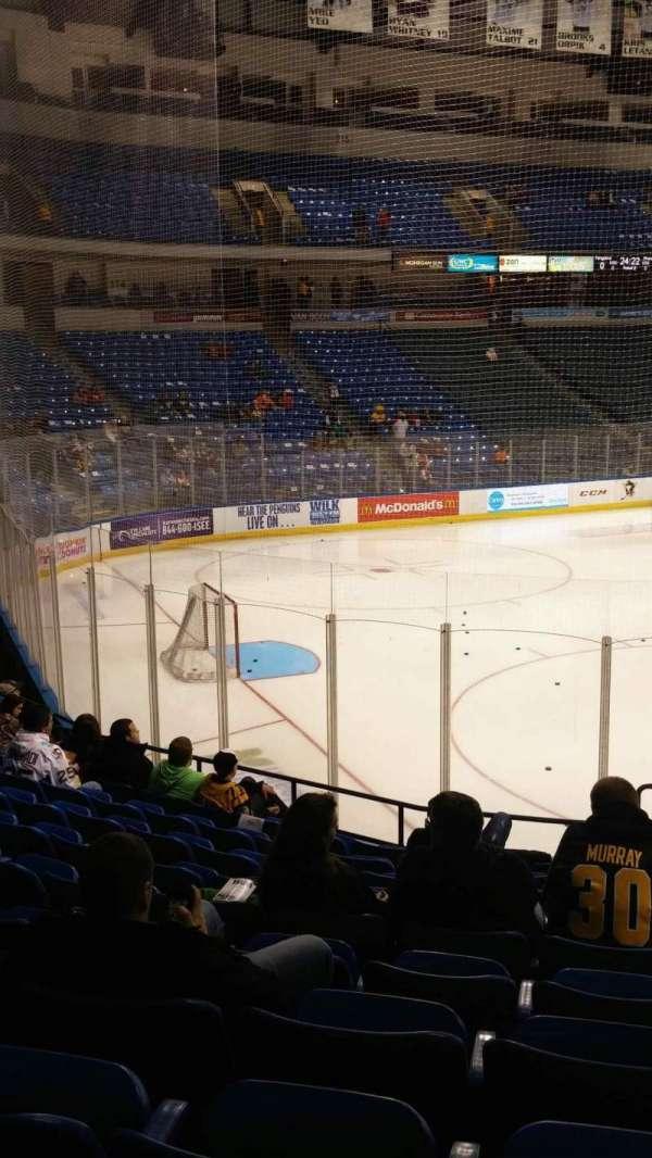 Mohegan Sun Arena at Casey Plaza, section: 108, row: M, seat: 1