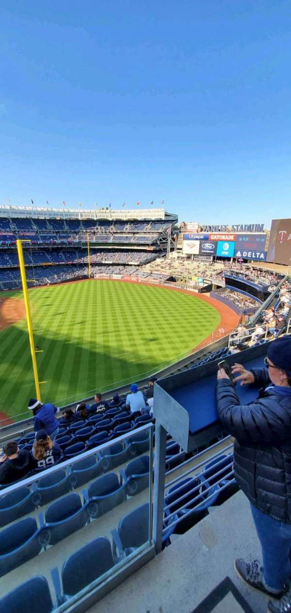 Yankee Stadium, section: 309, row: 6, seat: 9
