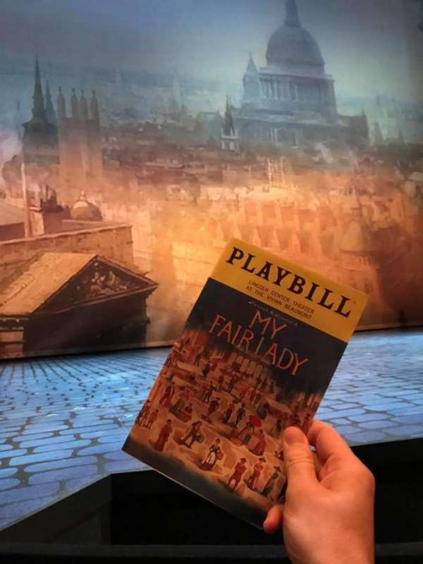 Vivian Beaumont Theater, section: Orchestra LC, row: B, seat: 202