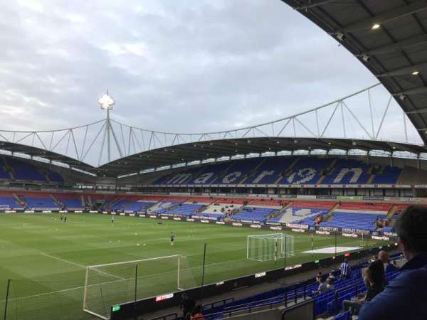 Macron Stadium, section: South stand lower, row: T, seat: 33