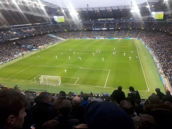 Etihad Stadium (Manchester), section: 314, row: K, seat: 358