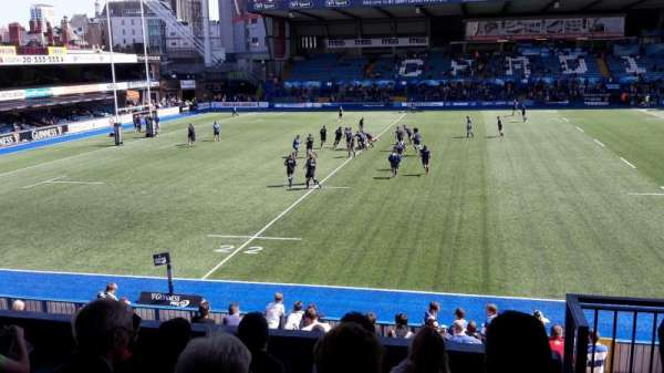 Cardiff Arms Park, section: 14, row: F, seat: 19