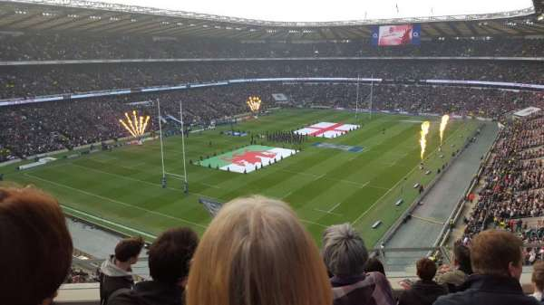 Twickenham Stadium, section: U41, row: E, seat: 72