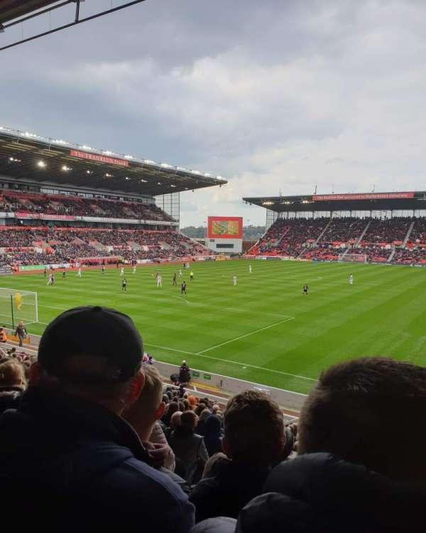 bet365 Stadium, section: Block 37, row: 22, seat: 842