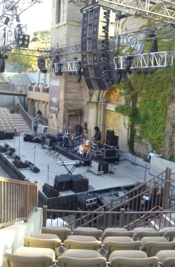 Mountain Winery, section: 21, row: F, seat: 9 and 10