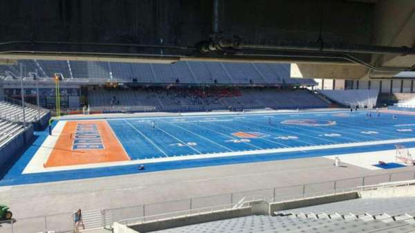 Albertsons Stadium, section: 26, row: T, seat: 20
