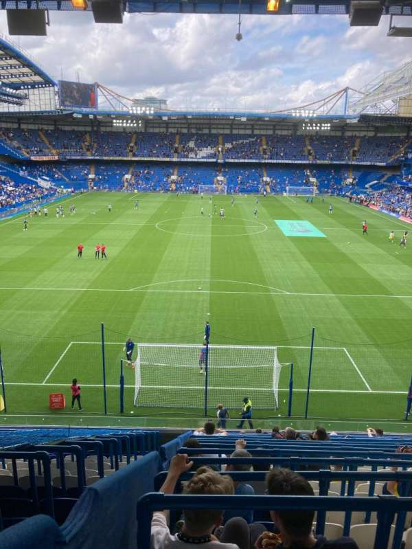 Stamford Bridge, section: Shed End Upper 4, row: 15, seat: 143