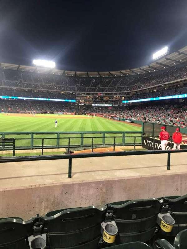 Angel Stadium, section: P259, row: J, seat: 2