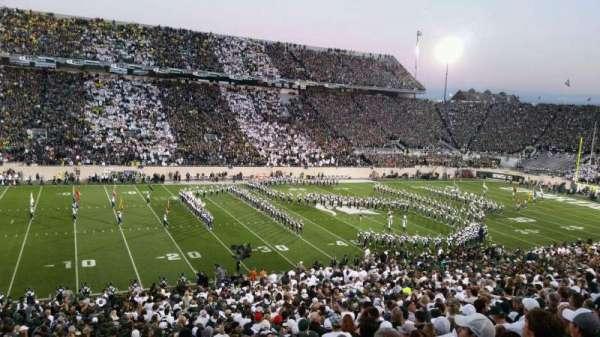 Spartan Stadium, section: 26, row: 48, seat: 10