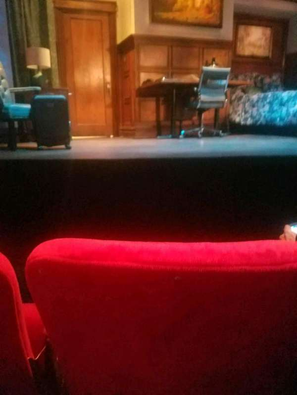 Lucille Lortel Theatre, section: orch, row: b, seat: 108