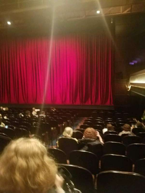 The Joyce Theater, section: orchestra, row: o, seat: 6