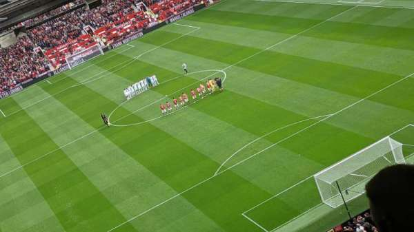 Old Trafford, section: W3102, row: 31, seat: 146