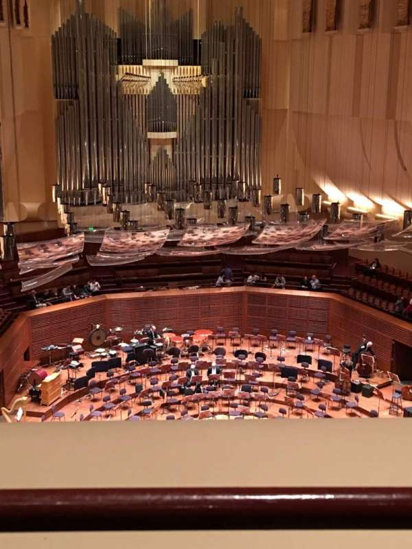 Davies Symphony Hall, section: 2nd Tier DD, row: A, seat: 113