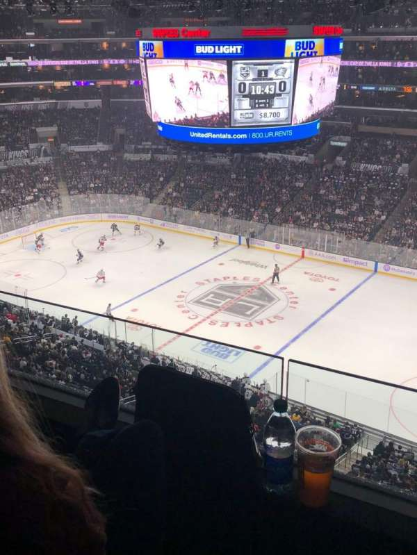 Staples Center, section: 333, row: 2, seat: 1